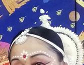 インド舞踊メイクとビャクダン